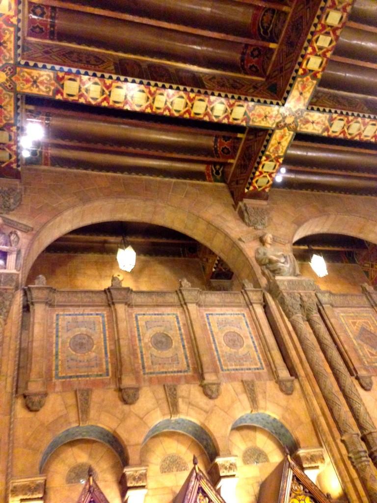 Ceiling Fine Arts Lobby DTLA