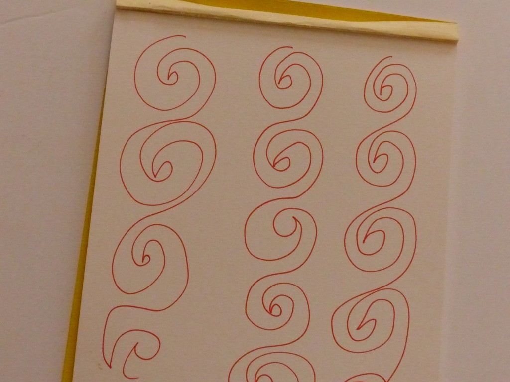 practicing the sprial