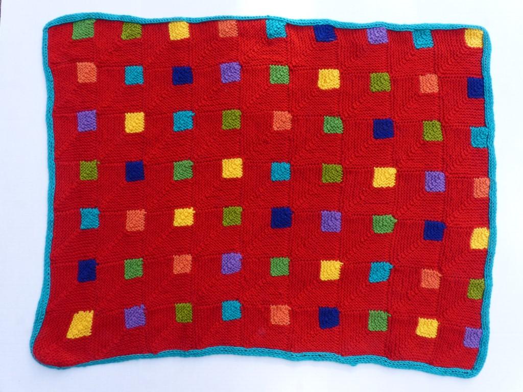 Finished Princess Square Blanket