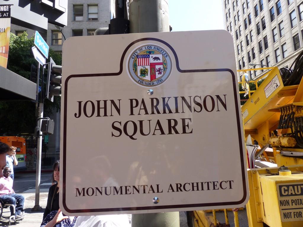 John Parkinson Monumental architect