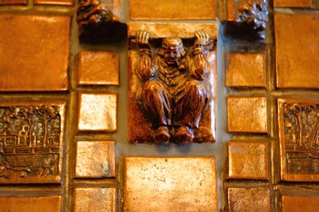 The Chocolate Shop, Ernest Batchelder tiles, DTLA