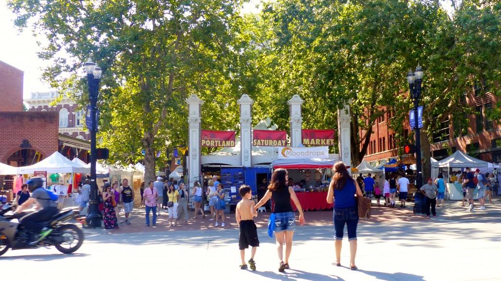 Portland Saturday market.