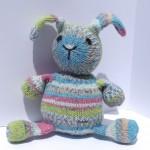 Sock yarn bunny